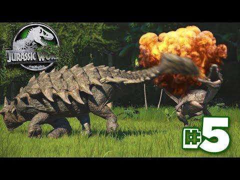They're All Dead!!! | Dinosaur Preserve - Part 5 | Jurassic World Evolution