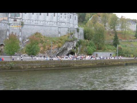 Chapelet du 18 septembre 2020 à Lourdes