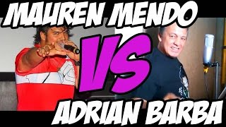 MAUREN MENDO VS ADRIAN BARBA!!! SAINT SEIYA BATTLE!!