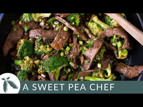 Video Healthy Beef And Broccoli | A Sweet Pea Chef