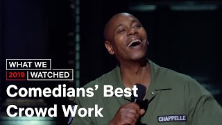 Best Stand Up Comedy Crowd Work | What We Watched | Netflix is a Joke