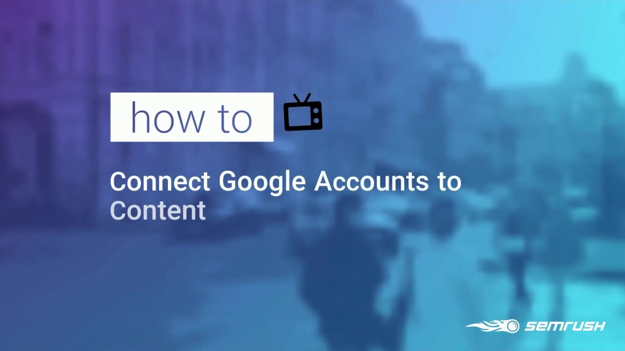Connecting Content Audit with Google Accounts image 1