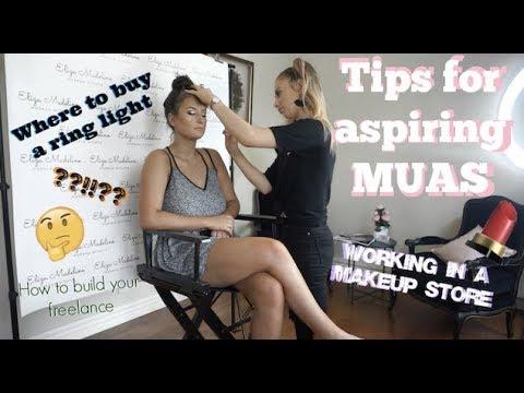 HOW TO BECOME A MAKEUP ARTIST! - Makeup Artist Q&A | Eliza Madeline Makeup