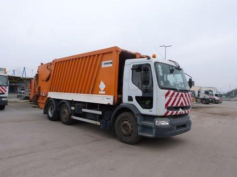 camion poubelles renault 22sxa1 161798 km 2000. Black Bedroom Furniture Sets. Home Design Ideas