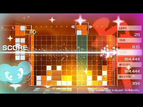 Trailer d'annonce sur consoles et PC de Lumines Remastered