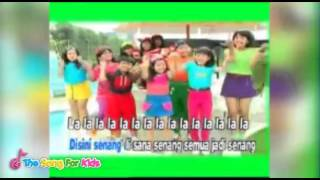Di Sini Senang Di Sana Senang - Trio Kwek Kwek - The Song For Kids Official