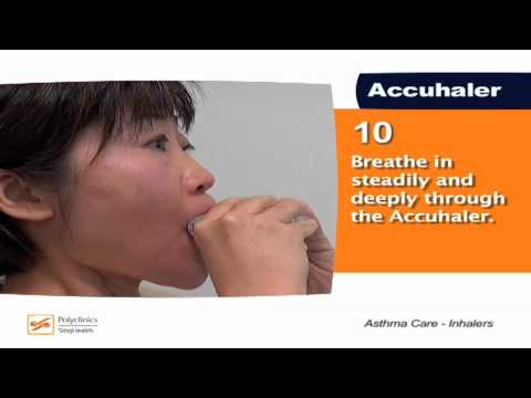 How to Use Asthma Inhalers