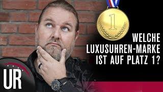 TOP 5 SCHWEIZER LUXUSUHRENMARKEN & TOP 3 KONZERNE