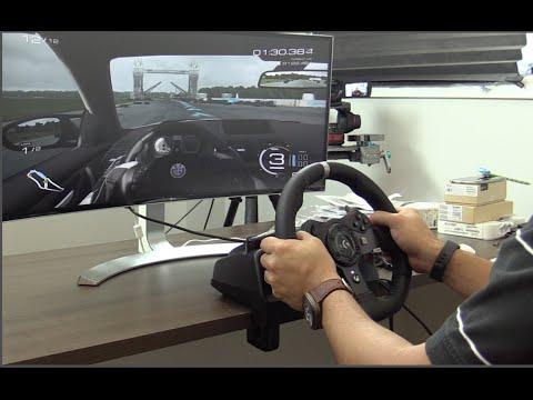 Logitech GT 920 Driving Force Review en Español #Logitechgt920
