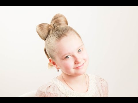 Детская прическа Бант. Bow Hairstyle