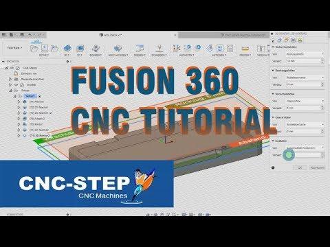 Fusion360 CNC Tutorial CAD/CAM Holzbox Teil 1
