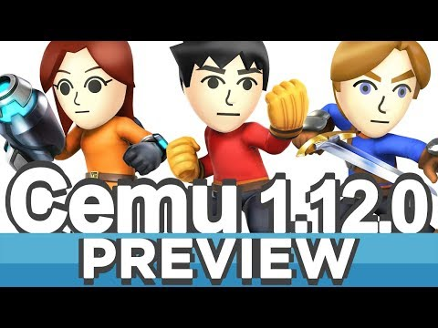 Cemu 1,12,0 (Wii U Emulator) | Improvements Preview