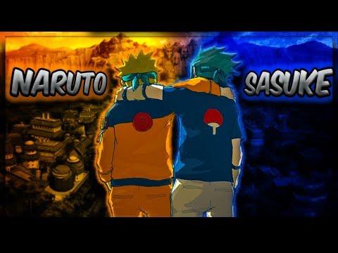 AMV Naruto vs Sasuke Final Fight - Samidare [Ksolis Trap