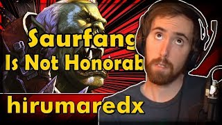 "Asmongold Reacts to ""Saurfang Is Not Honorable"" by hirumaredx"