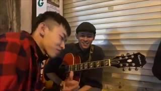 """Kay Trần Hát Live Cực Hay """" Phía Sau Em """" Phiên Bản Guitar Acoutics Gây Náo Loạn Phố Đi Bộ Hà Nội"""