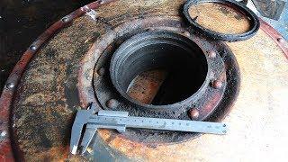 С ремонта - ходовой вариатор комбайна Нива СК-5 старого образца. В чем причина.