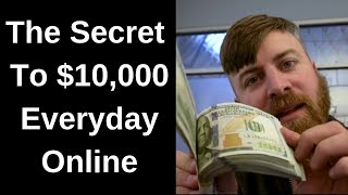 How John Crestani Make $10,000 Per Day Online (SECRET REVEALED)