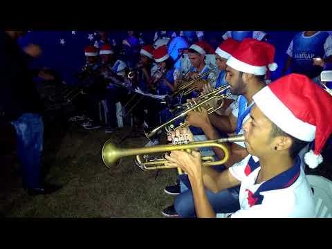 Concerto de natal da Bamrap em Araçagi