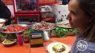 Chef Ana Martorell en el mercado de Coyoacán