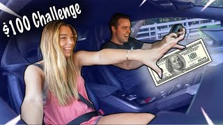 Cute Girls Fight For $100 In Lamborghini! *GONE WRONG*