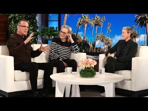 Tom Hanks and Meryl Streep Talk 'The Post'