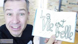 FRENCH QUOTES - La Vie Est Belle   Learn French Culture