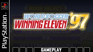World Soccer Winning Eleven '97 [PS1] Gameplay