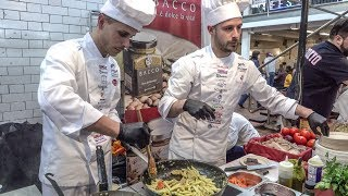 Food Festival from Sicily, Italy. London Street Food