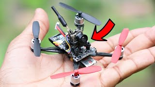 How To Make Drone with Camera At Home ( Quadcopter) - FPV Racing Drone