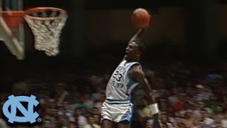 Michael Jordan UNC Highlights - Narrated by Dean Smith & Woody Durham