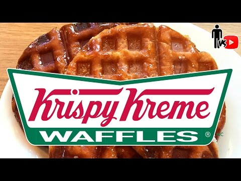 Krispy Kreme Doughnut Waffles - Man Vs Youtube #2