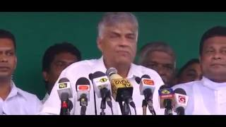 Ranil Wickramasinghe insulting to Lord Buddha - Must Watch & Pls SHARE