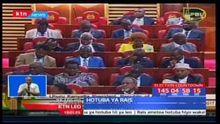 Rais Uhuru Kenyatta apendekeza kupunguza mishahara kwenye hotuba yake