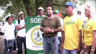 preview picture of video 'Asocs. Ecologicas del Cibao participan en Caminata Ecologica en Mao'