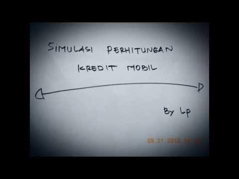 Video Cara Mudah Menghitung Kredit Mobil