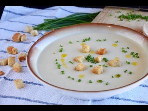 Crema de coliflor casera y fácil