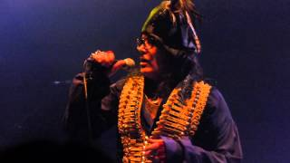 Adam Ant - Vince Taylor (live at the Roundhouse, London, 11.05.2013)