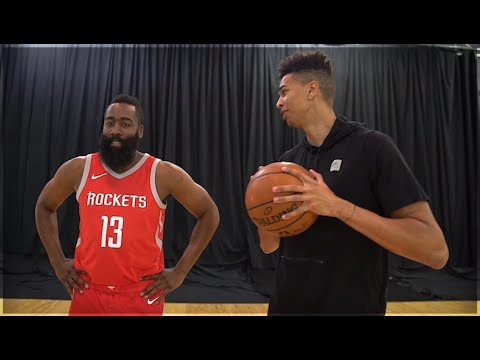 1v1 BASKETBALL vs. NBA SUPERSTAR JAMES HARDEN