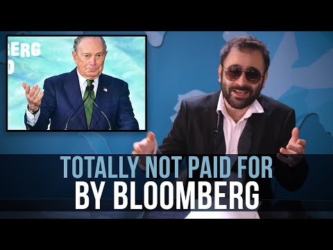 Totally Not Paid For By Bloomberg - SOME MORE NEWS
