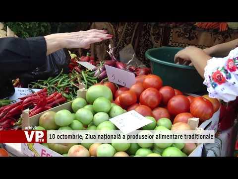 10 octombrie, Ziua națională a produselor alimentare tradiționale