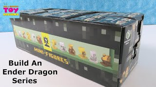 Minecraft Series 16 Mini Figures Unboxing Build An Ender Dragon | PSToyReviews