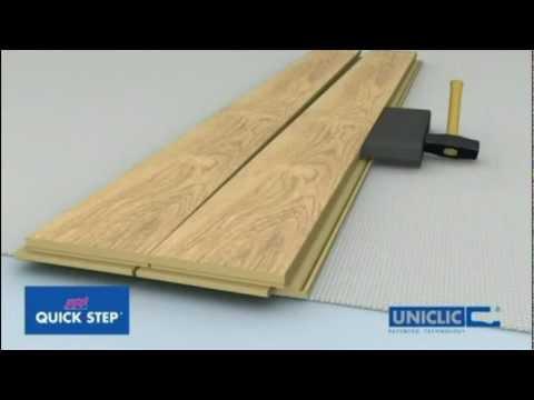 OnFlooring Quick-Step Uniclic Laminate Flooring – Floating Floor Installation.