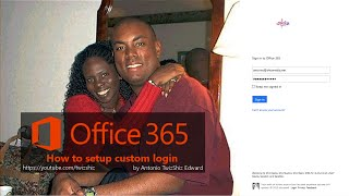 How to set up your branding for Office 365 for Business login
