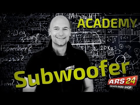 SUBWOOFER Seminar | Autohifi leicht erklärt | ARS24