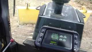 How to operate a bulldozers controls