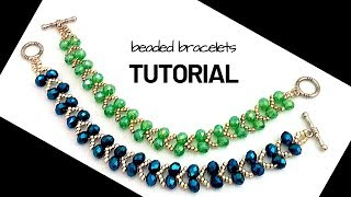 Make Your Own Jewelry. Beaded Bracelets. Beading Tutorial