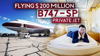 Flying $200 Million Boeing 747-SP Private Jet