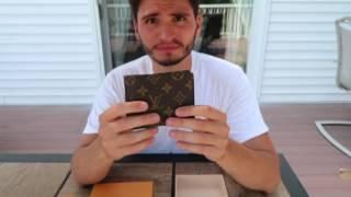 LOUIS VUITTON MULTIPLE WALLET UNBOXING & REVIEW MONOGRAM