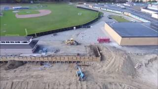 Blaze Contracting at Rochester High School