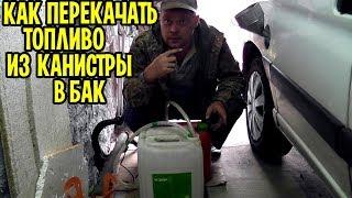 Насосы для перекачки бензина из канистры